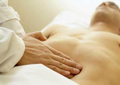 пальпация кишечника