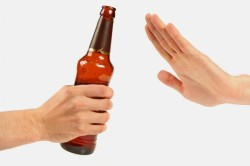 Отказ от алкоголя при гепатите С