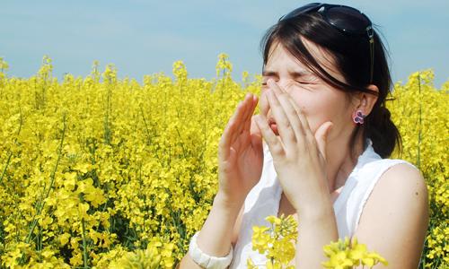 Проблема весенней аллергии