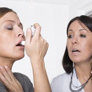 Бронхиальная астма, приступы удушья