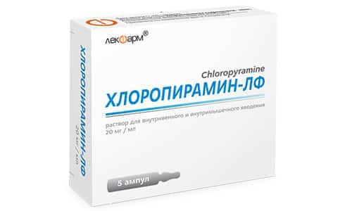Хлоропирамин способен усилить действие медикаментов, направленных на устранение проблем со сном, антидепрессантов, транквилизаторов