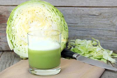 сок капустный