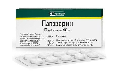 Препарат Papaverin