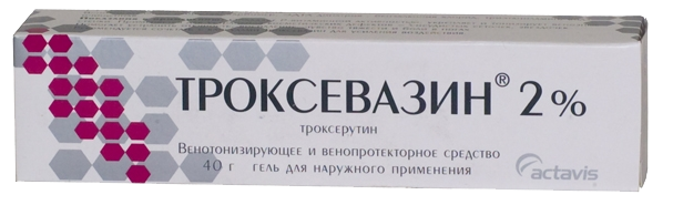 Лечение геморроя троксевазином