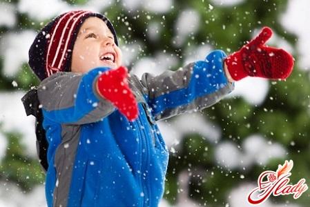 зимний комбинезон для ребенка